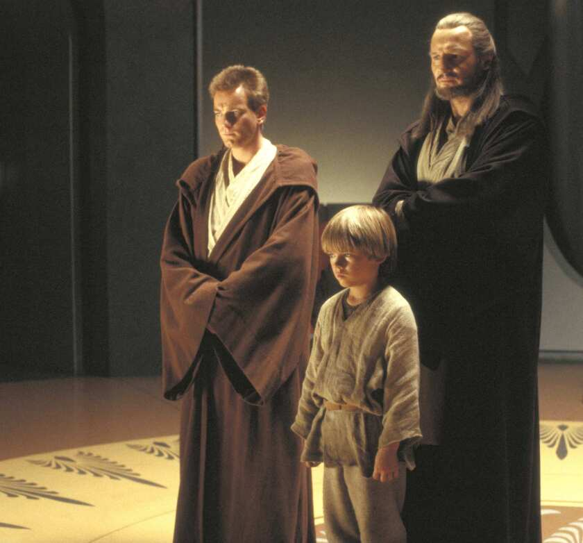 "A scene from ""Star Wars: The Phantom Menace."""