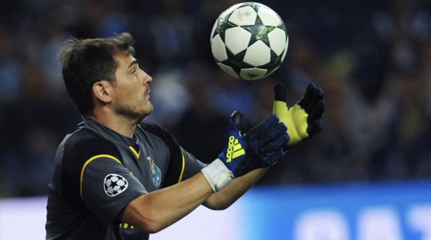 Iker Casillas, portero español.