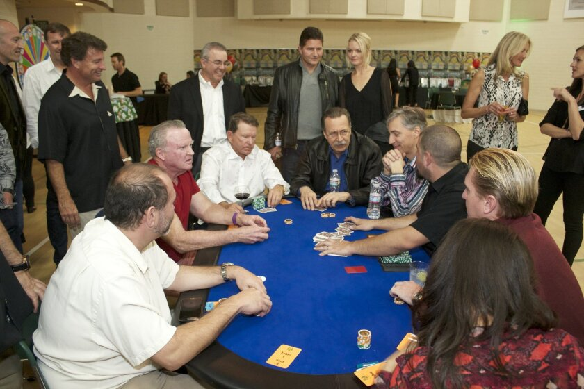 "The Rancho Santa Fe Community Center's No-Limit Texas Hold'em Charity Poker Tournament, ""Put Your Hearts on the Table,"" will be held Saturday, Feb. 28, from 6 p.m. - 11 p.m. Courtesy photo"
