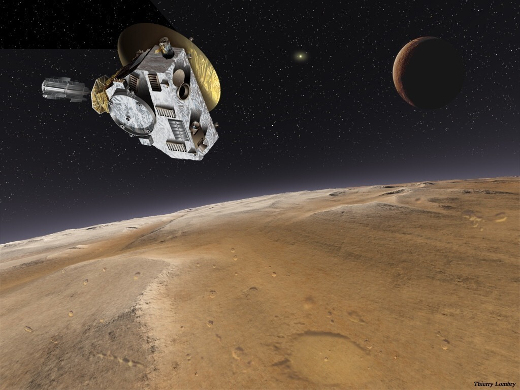 After a nine-year journey, NASA's New Horizons spacecraft will give humans their first good look at Pluto ever in 2015.
