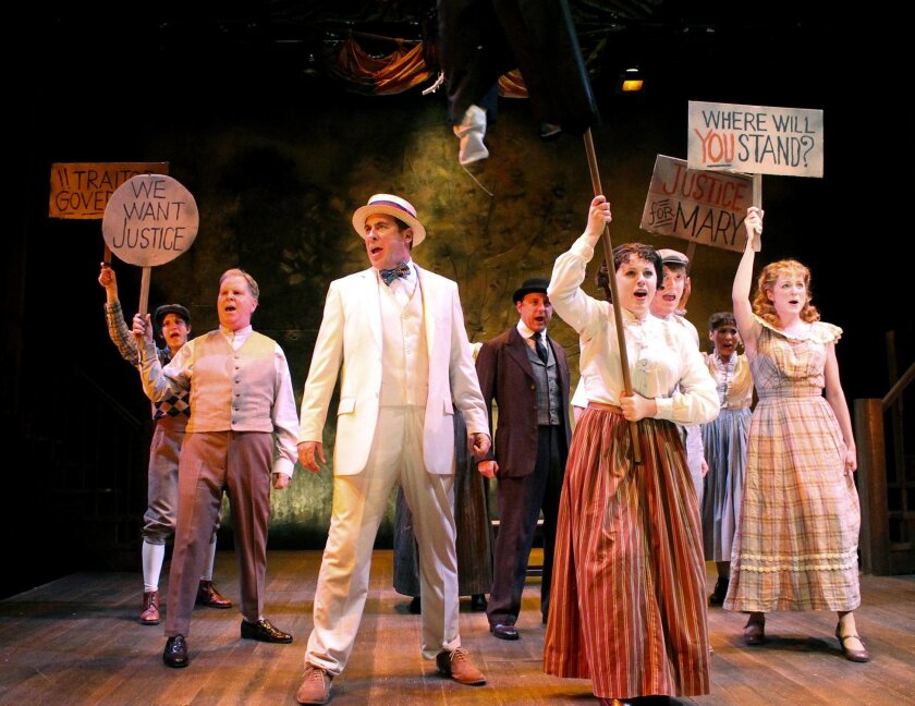 """Cygnet Theatre stages a successful production of """"Parade."""""""