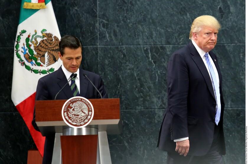 Gasta Trump dls. 115 mil en viaje a México.