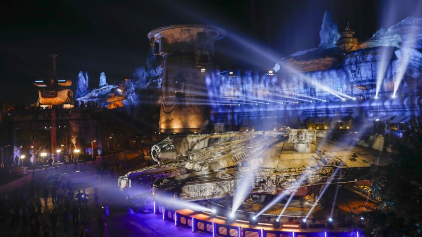 Watch the star-studded opening of Star Wars: Galaxy's Edge at Disneyland