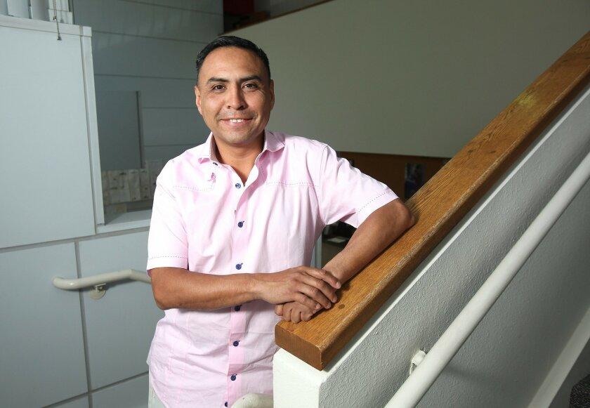 Manuel Hernandez, whose efforts on behalf of Komen San Diego have made him a Komen volunteer of the year.