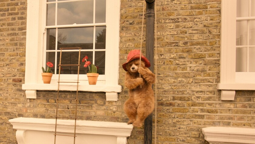 "Ben Whishaw provides the voice of the titular bear in the craftily plotted ""Paddington 2."""