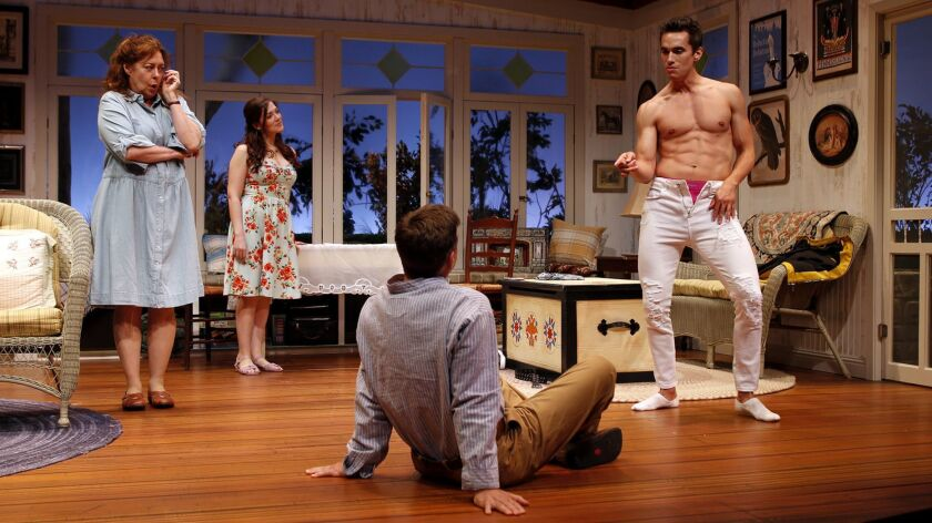 """South Coast Repertory presents """"Vanya and Sonia and Masha and Spike"""" by Christopher Durang, dire"""