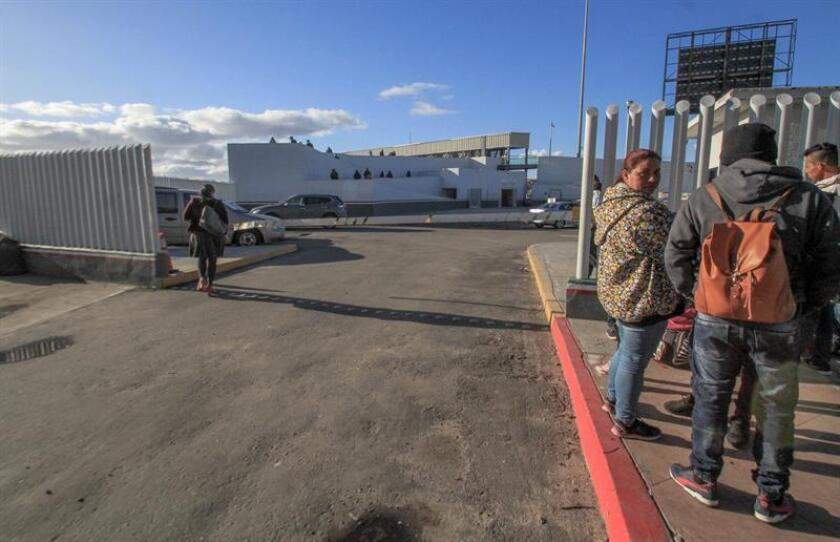 A general view of El Chaparral checkpoint, in Tijuana, Mexico, 06 February 2019, where the people who traveled with the migrant caravan used to do the procedures at the US migration offices. Tijuana has returned to normal despite the migration crisis denounced by US President Donald Trump. EPA-EFE/ Joebeth Terriquez