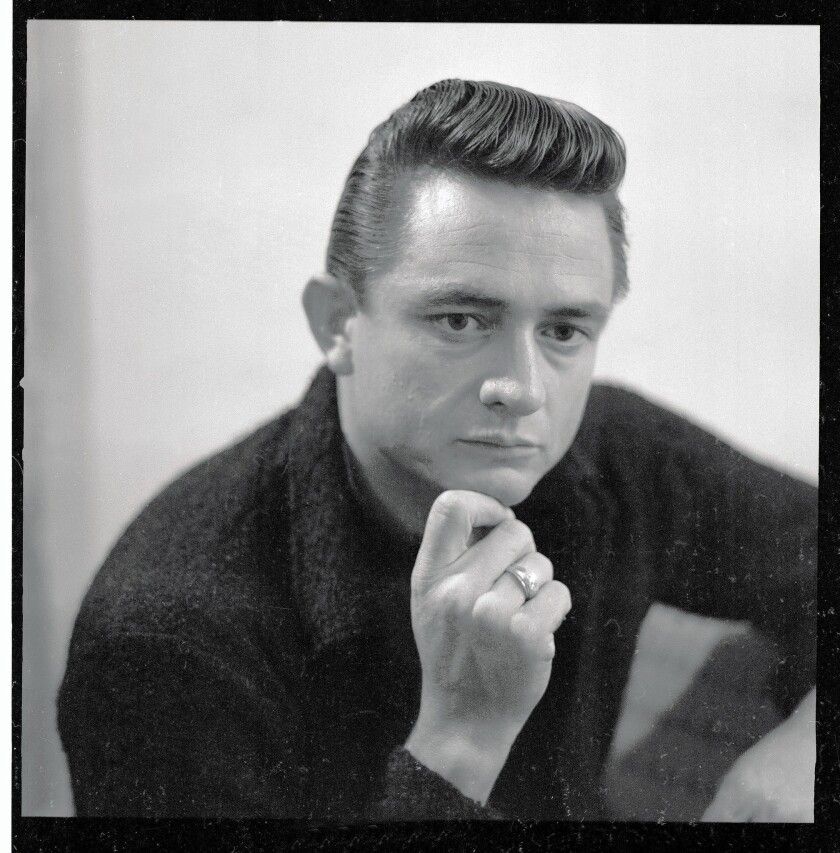 "Johnny Cash is seen in 1964, the year he released ""Bitter Tears: Ballads of the American Indian."""