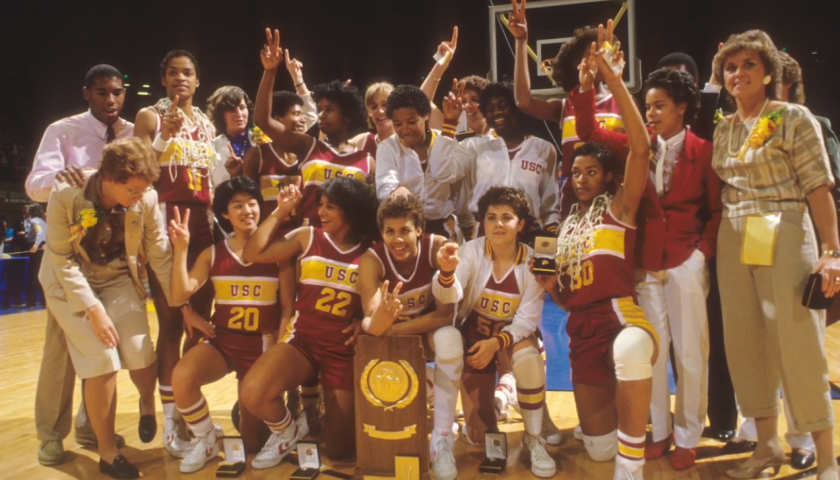 The USC women's basketball team won back-to-back NCAA titles in 1983 and 1984.