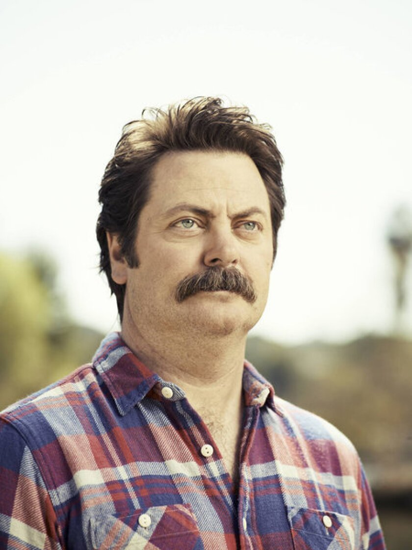 Nick Offerman proves he is more than just a mustache with his new memoir.