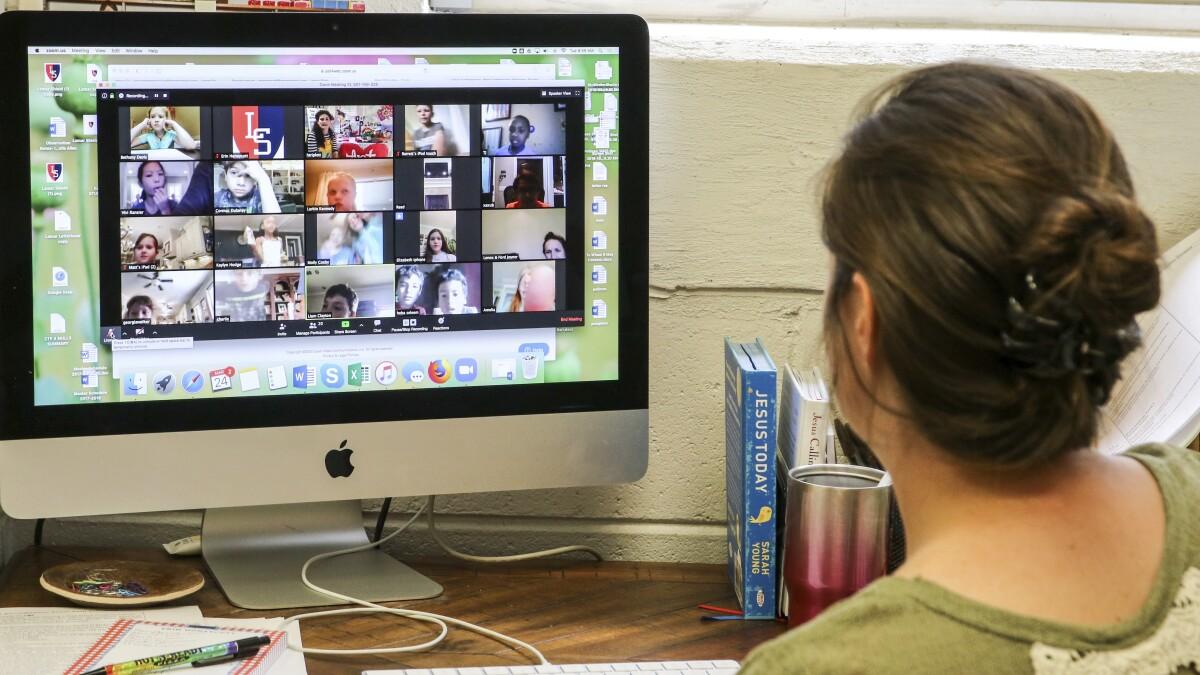 Cómo Adaptar La Educación Especial A La Realidad Del Aprendizaje A Distancia Los Angeles Times