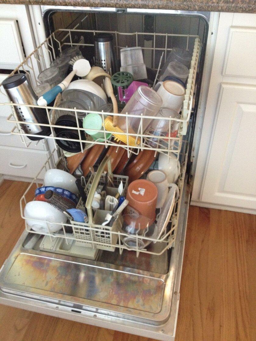 Inga-loaded dishwasher