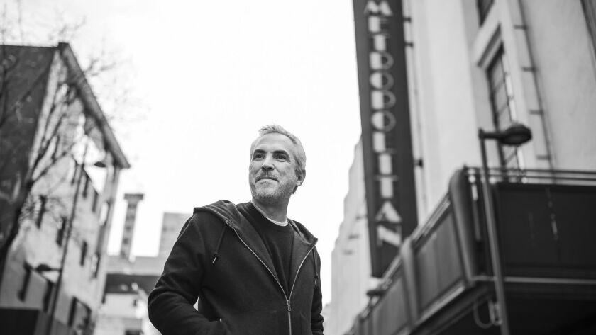 MEXICO CITY, FEDERAL DISTRICT -- MONDAY, DECEMBER 17, 2018: Alfonso Cuaron in Mexico City, Mexico on