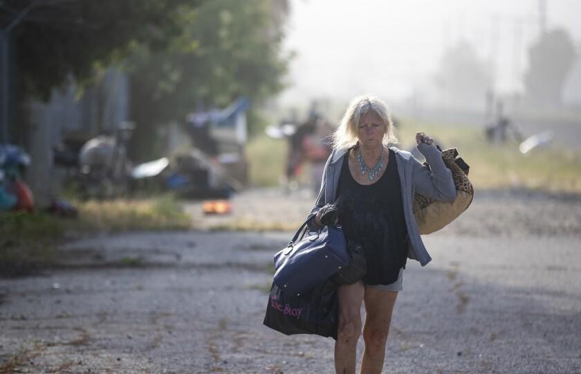 Homeless in Chatsworth