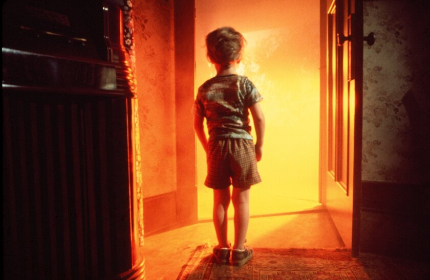 """Cary Guffey in Close Encounters of the Third Kind"""" (1977)."""