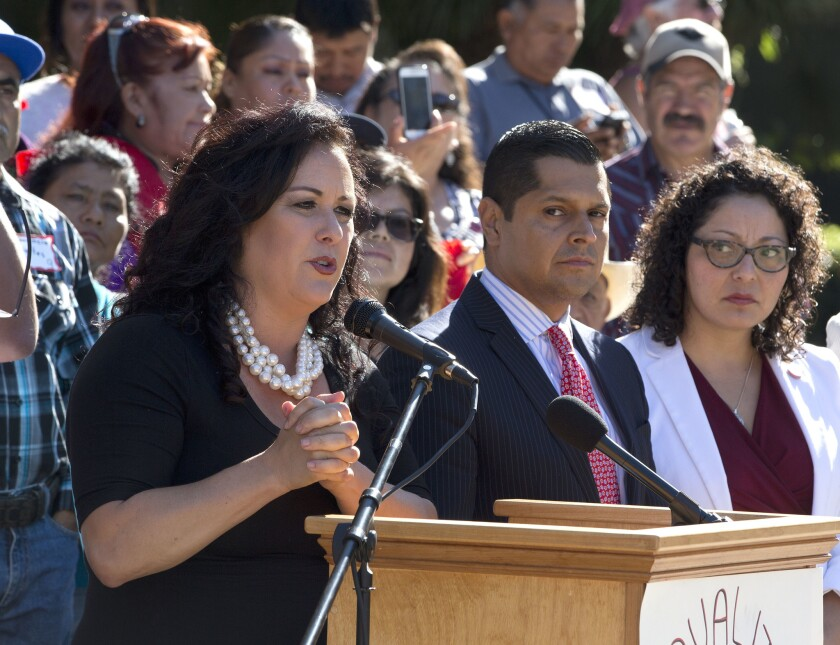 Assemblywoman Lorena Gonzalez