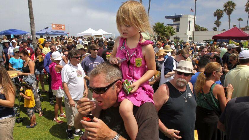 March 28, 2014_San Diego (Ocean Beach), California_USA_ Ocean Beach Street Fair & Chili Cook-Off Fes