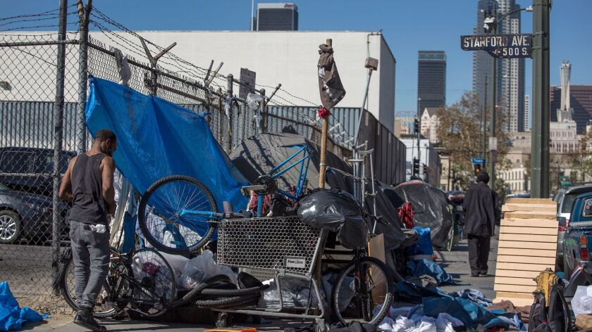 L A  has the most chronically homeless people — again - Los