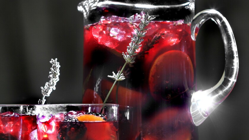 Cool and refreshing. Recipe: Sangria No. 27