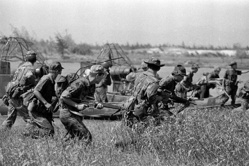 South Korean soldiers in Vietnam