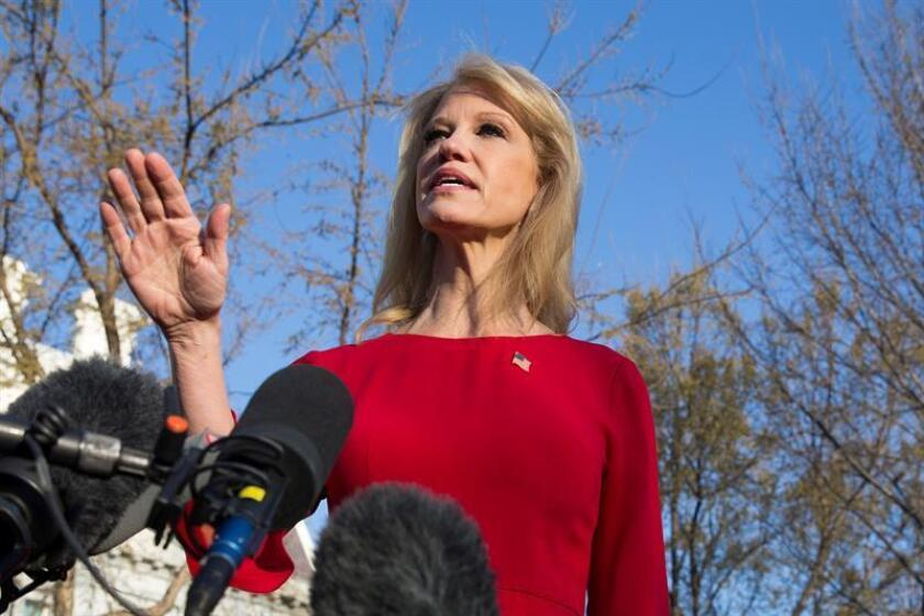 Asesora duda que Trump pronunciara frase controvertida en informe de Mueller