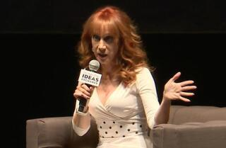 Kathy Griffin talks about her run-ins with celebrities from A to Z