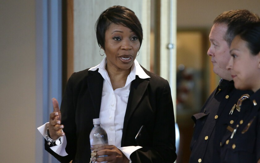 Dallas Police Chief U. Reneé Hall resigned Tuesday amid criticism of her leadership.