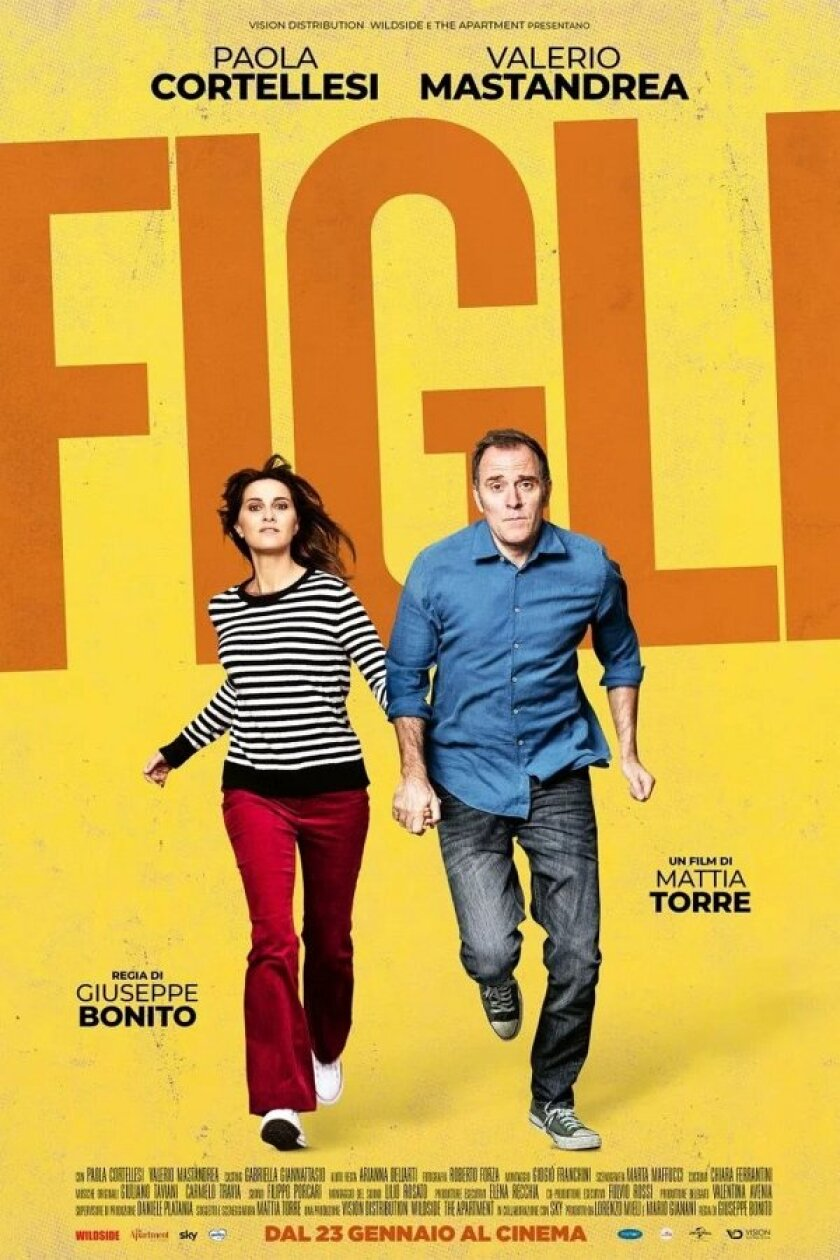 """The poster for the sharp comedy """"Figli"""" (Kidz)"""