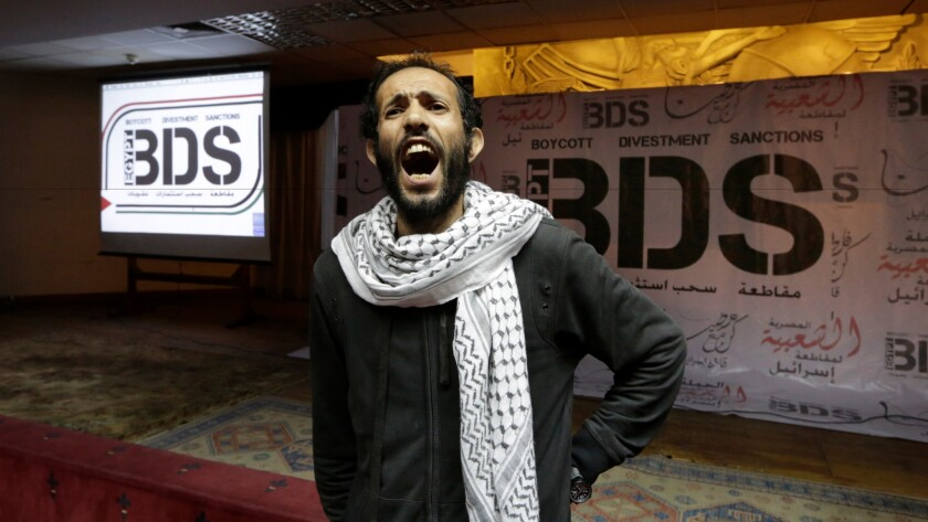 BDS movement supporter