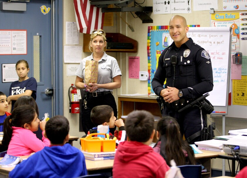 Glendale police deliver Easter bags, traffic safety tips to Mann ...