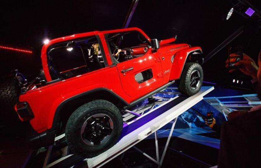 Jeep, especializada en la producción de todoterrenos y todocaminos SUV, vendió 72.800 vehículos, un 9 % más que hace un año. EFE/Archivo