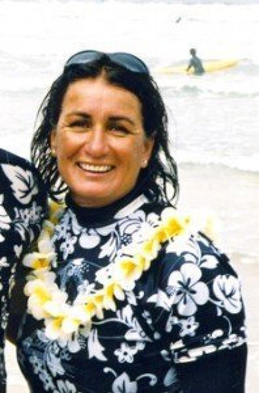 WSC member and former women's world surfing champion Debbie Beacham.