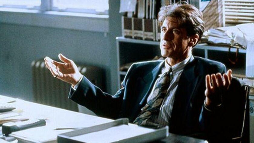 Al Pacino in the 1992 movie Glenberry Glen Ross.