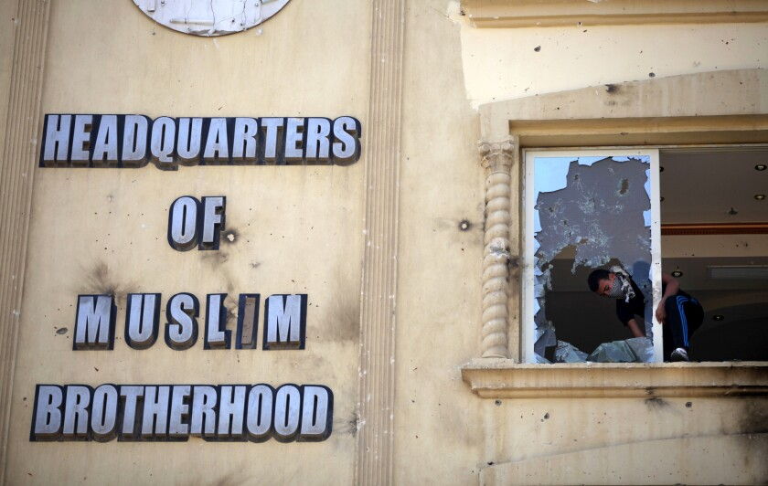 Egyptian court bans Muslim Brotherhood, orders its assets confiscated