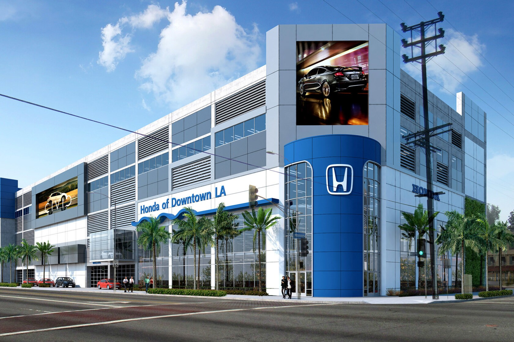Honda Dealership Los Angeles >> Here S Why A Busy Downtown Honda Dealership Is Moving To