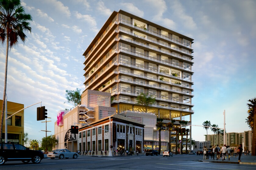 Rendering of the $1 billion District NoHo complex planned for construction in North Hollywood