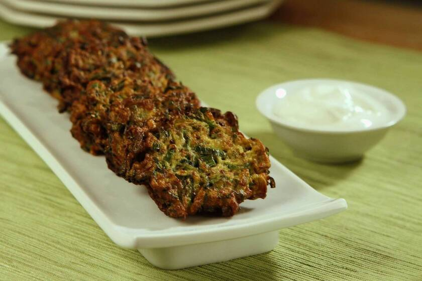 Recipes: Zucchini fritters