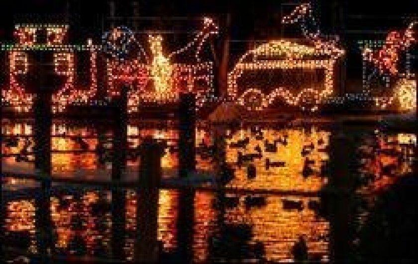 San Diego Christmas Lights.Christmas Light Displays Abound The San Diego Union Tribune