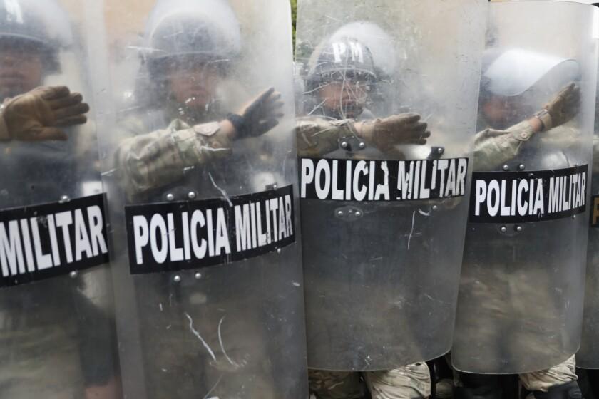 AMS-GEN BOLIVIA-PROTESTAS