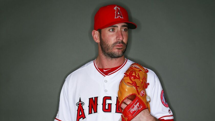 sports shoes 0f658 49fe1 Angels pitcher Matt Harvey says he's 'right where I want to ...