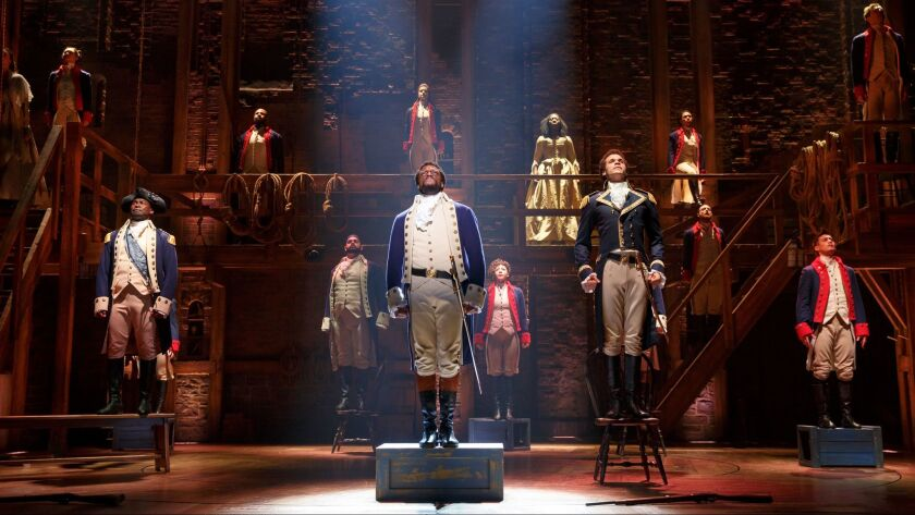 "The history behind ""Hamilton"" has become the foundation of national education program."