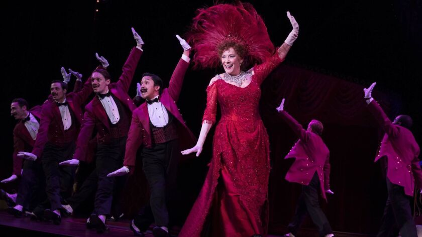 """Betty Buckley and the touring company of """"Hello, Dolly!"""""""