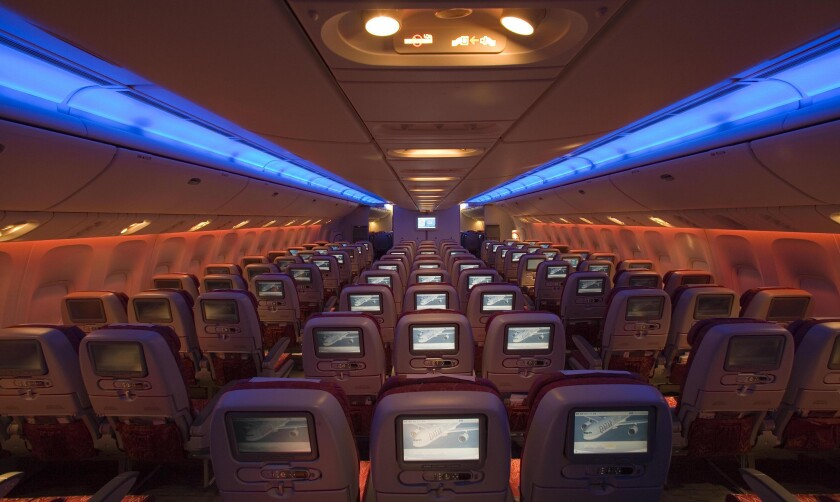 Qatar Airways is preparing to initiate service between Los Angeles and Doha on Boeing 777s.