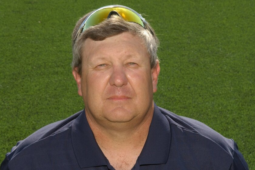 Mike Mitchell's teams have won three San Diego Section titles during 18 years coaching baseball at Christian.
