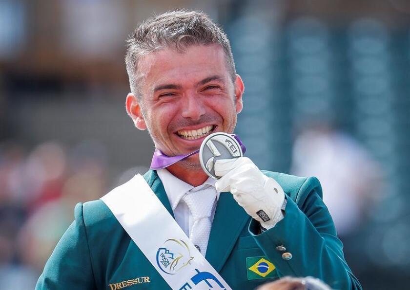 El brasileño Riskalla gana la plata en doma paraecuestre en Grado IV
