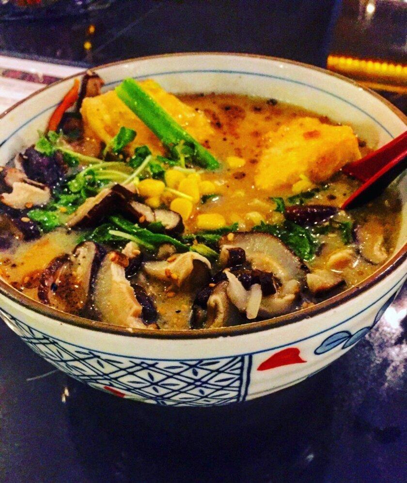 Vegan Ramen from Tajima - Liz Bowen