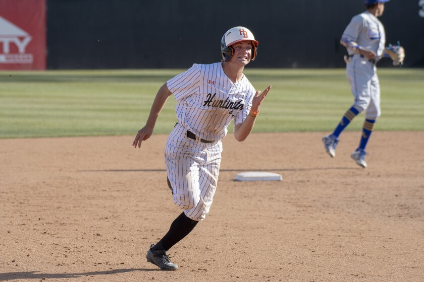 Photo Gallery: Huntington Beach vs. La Puente Bishop Amata in baseball
