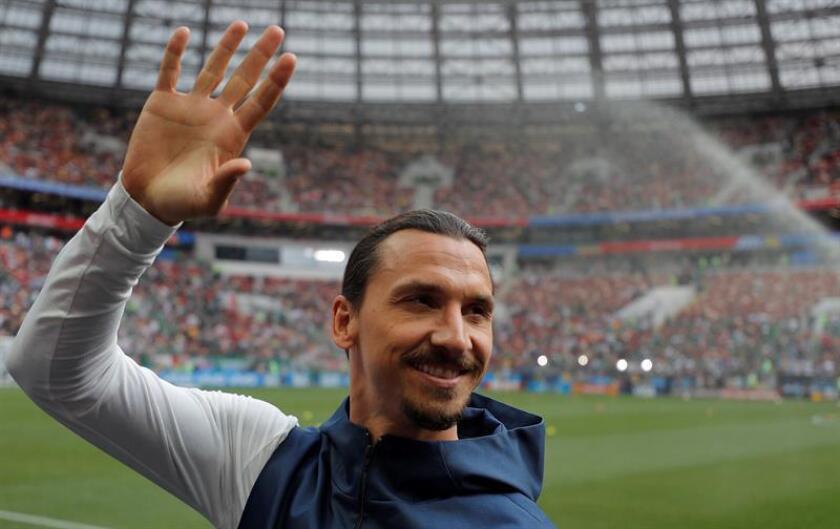 Imagen del sueco Zlatan Ibrahimovic. EFE/Archivo