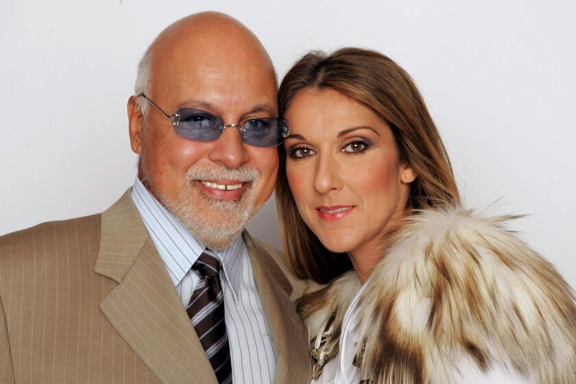 René Angélil and his wife, Celine Dion