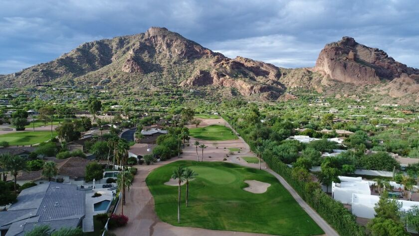 The short course at the Mountain Shadows resort in Scottsdale, AZ. Credit: Mountain Shadows